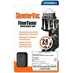 Uniflame SkeeterVac Fine Tune Biting Insect Lure Replacement NEW Best Mosquito Trap, Mosquito Control, Mosquito Killer, Pest Control, Backyard Walkway, Backyard Swings, Ponds Backyard, Backyard Ideas, Backyard Chicken Coops