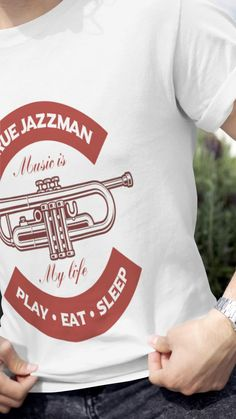 Check out this perfect trumpet t shirt. A must have shirt for any trumpet player that loves jazz! See more at the music gifts depot! Music Teacher Gifts, Music Gifts, Music Backpack, Marching Band Shirts, Music Shoes, Trumpet Players, Student Gifts, Jazz, Concert