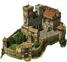 This is an affordable castle home suitable for hidding all your sick and evil ac. Fantasy World Map, Fantasy City, Fantasy Castle, Fantasy House, Fantasy Places, Medieval Houses, Medieval World, Medieval Castle, Medieval Fantasy