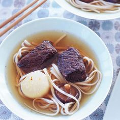 Five-Spice Short Ribs with Udon Noodles   Food & Wine