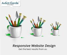 Today, responsive website design is what every client desires ! Get the best responsive website design from us. You are sure to deliver the best results. ‪#‎Responsivewebsitedesign‬ ‪#‎Avantgarde‬