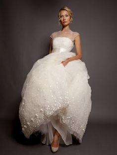 Kabarık prenses gelinlik modeli, Randi Rahm Bridal Collection