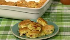 the chew   Recipe    Clinton Kelly's Bacon Egg & Cheese Biscuit Casserole