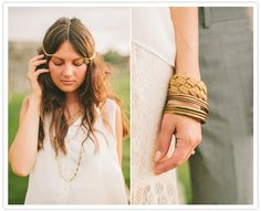 gold wedding accessories  http://roxyheartvintage.com