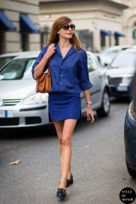 Ece Sukan, before Gucci fashion show. STYLE DU MONDE on Instagram @styledumonde, Pinterest, Twitter, Tumblr and Facebook