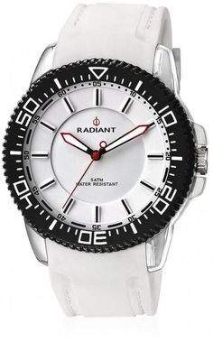 Os mostramos el nuevo Radiant para hombre,el modelo #NewExtrem, un diseño muy veraniego en blanco y con bisel en negro a un precio increíble, ya que lo hemos puesto en oferta en tan solo 32€. Oferta disponible en https://www.todo-relojes.com/detalle.asp?codigo=14816 #relojesRadiant #relojesblancos #relojesbaratos #ofertasrelojes todo-relojes.com