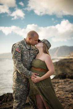 Military, maternity, love, couples