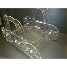 Design Acrylics Horse  Carriage Cake Stand picture 30233