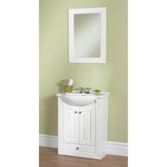 Woods 26quot; Concord Collection Vanity Ensemble at Menards $249 hall bath