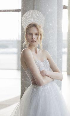 Mira Zwillinger starpless sequins 2016 stardust wedding dresses Astra
