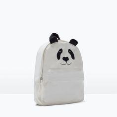 Panda bagpack | Zara