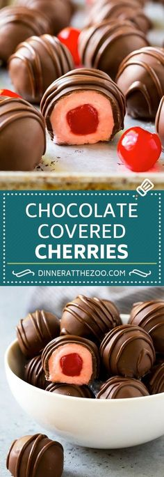 Five Approaches To Economize Transforming Your Kitchen Area Chocolate Covered Cherries Recipe Cherry Cordials Cherry Candy New Year's Desserts, Cherry Desserts, Cherry Recipes, Best Dessert Recipes, Christmas Desserts, Christmas Baking, Delicious Desserts, Cherry Cake Recipe, Sweets Recipe