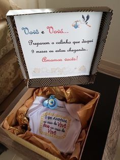Revelando a gravidez aos avós! Sweet Dreams Baby, Baby Boy Decorations, Foto Baby, Baby Memories, Baby Coming, Baby Store, Paper Toys, Kids And Parenting, Baby Room