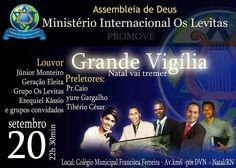 BLOG NOTÍCIAS: Assembléia de Deus Ministério Internacional os Lev...
