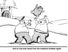 Not a Teddy Bear, Far Side Cartoon by Gary Larson | Silver Birch Press