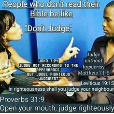 Mind you: We are all individually accountable to our maker/judge; let therefore the Holy Spirit be the one to judge from within one's heart's sacred temple!+!