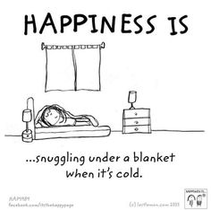Happiness is snuggling!