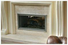 Fireplace Glass Doors, Custom Fireplace, Hearth, Design, Log Burner, Home, Stove