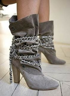 Ladies X1046 Dark Navy Blue Wedge Heeled Wellington Boots