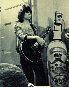 Keith waiting backstage.