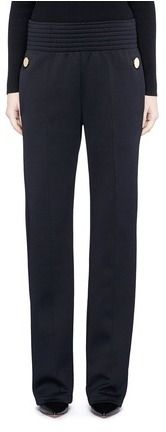 Givenchy Decorative button sweatshirt jersey pants