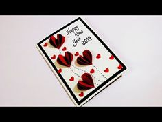 In this video, i am going to show you guys how to make happy new year card for boyfriend. Easy step by step procedure is given in the video to make your own . Birthday Gifts For Boyfriend Diy, Cards For Boyfriend, Boyfriend Gifts, Happy New Year Gift, New Year Gifts, Simple Birthday Cards, Diy Birthday, New Year Cards Handmade, Birthday Survival Kit
