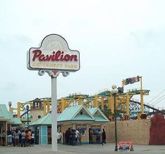 Myrtle Beach Pavilion - heatbreaking to think we'll never see those carnival lights on the shore...