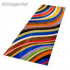 Dirt-Trapper Design Mat - Modern Stripes Pandora - 60 x 180 cm #stripes