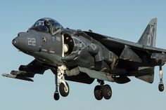 """A McDonnell Douglas AV-8B Harrier II Night Attack, from Marine Attack Training Squadron 203 (VMAT-203) """"Hawks,"""" arriving at Naval Air Facility El Centro.  www.ottosenphotography.com   © Matt Ottosen"""