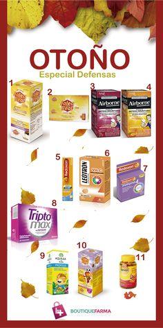 Vitaminas y Minerales especial defensas otoño