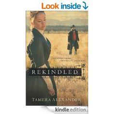 Free right now:  Rekindled (Fountain Creek Chronicles Book #1) by Tamera Alexander  (be sure to check price before purchasing)  http://www.amazon.com/gp/product/B00B5J4XGM/ref=as_li_tl?ie=UTF8&camp=1789&creative=390957&creativeASIN=B00B5J4XGM&linkCode=as2&tag=chrisbooksrev-20&linkId=MM52FQKUB3IMMSLJ