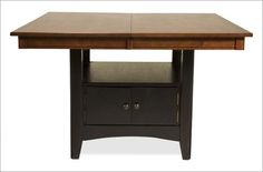 Riverside Furniture Square Table with Storage