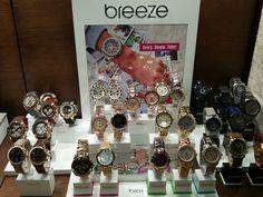 Super-cool BREEZE watches! Τώρα και νέα ανδρική συλλογή!   Τσαλδάρης στο Χαλάνδρι #watches #breeze Wine Rack, Breeze, Advent Calendar, Watches, Holiday Decor, Home Decor, Bottle Rack, Decoration Home, Room Decor