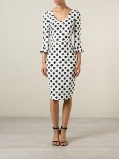 Dolce & Gabbana Vestido De Bolinhas - Torregrossa - Farfetch.com
