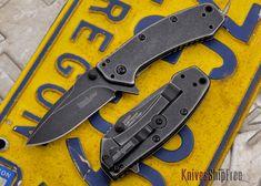 Kershaw Knives: Cryo - Blackwash Finish $42.95