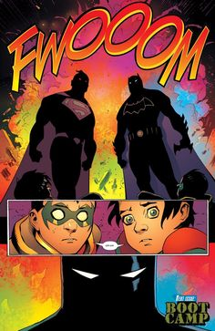 This Just Happened: Jon Kent Gut Punches Damian Wayne! | DC