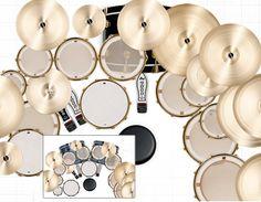 Artist Setups - Drum Workshop Inc. - drums, pedals, hardware, dvds, and more!