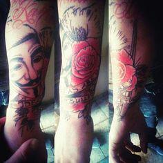Piercing Studio, Tattoos, Tatuajes, Tattoo, Cuff Tattoo, Flesh Tattoo