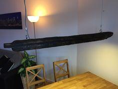 Hängelampen - Balken Treibholz-Lampe /Hängelampe /Pendelleuchte - ein Designerstück von MrTreibholz bei DaWanda