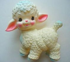 Baby lamb - I still have one very similar to this. It was a newborn present.
