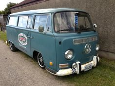 VW T2 Early Bay Superdry Bus