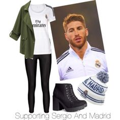 Supporting Sergio Ramos And Madrid