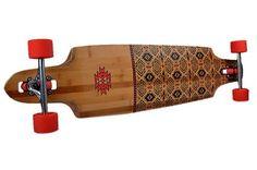 """Globe Spearpoint 9.8"""" x 40"""" red/bamboo Komplett Cruiser Globe http://www.amazon.de/dp/B00E9JQT4O/ref=cm_sw_r_pi_dp_RIkBvb0B1TAAV"""