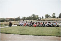Wedding Ceremony, Chaska Wedding Venue. Minnesota Wedding Venue.Outdoor wedding venues in Minnesota.Rustic wedding venues in MN.  #mnweddingvenue #mnwedding Photographer: Rachel Lynn Photography   Venue: The Outpost Center