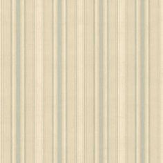 """Chesapeake Stripes Ellsworth Sunny 33' x 20.5"""" Stripes 3D Embossed Wallpaper"""