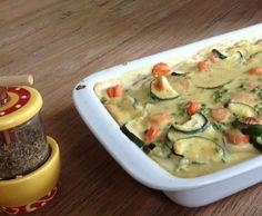 Rezept Gemüseauflauf mit Bechamelsoße von JeanneDark - Rezept der Kategorie Hauptgerichte mit Gemüse