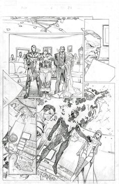 Comic Page by Oliver Coipel
