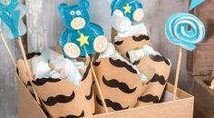 Vintage Μπομπονιέρες Βάπτισης: 10 Retro Ιδέες - El Deco Children, Cake, Desserts, Vintage, Food, Young Children, Tailgate Desserts, Boys, Deserts