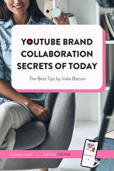 Creators are becoming businesses in order to keep up and make a profitable living.YouTuber India Baston is on the show today and she'll be sharing her journey getting to the top of her niche and all the ins and outs of working with brands! Erika Vieira #ErikaVieira #TheYouTubePowerHourPodcast Youtube Hacks, You Youtube, Youtube Without Ads, Free Seo Tools, Youtube Subscribers, Video Channel, Great Videos, Social Media Tips, Erika