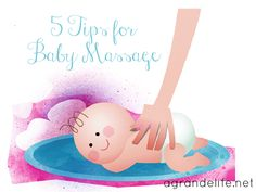 5 Tips for Baby Massage